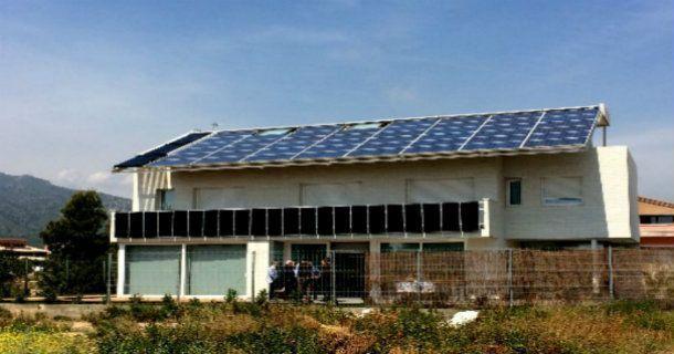 Proyectos de Energía Renovable: La casa solar